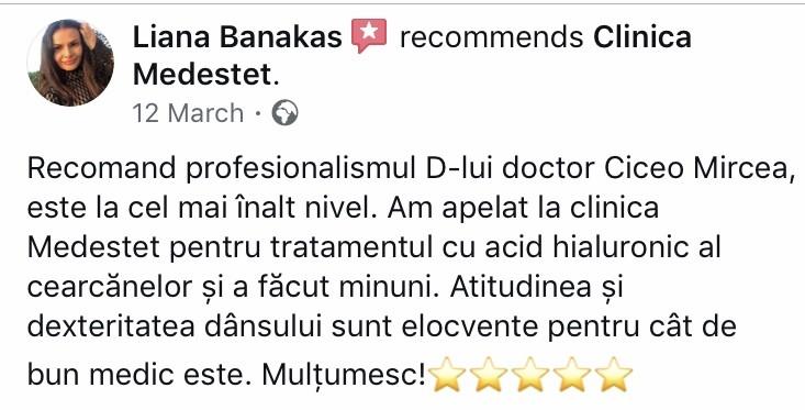 recomandari pacienti Medestet